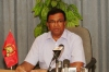 LTTE Political Head addressing the press in Ki'linochchi