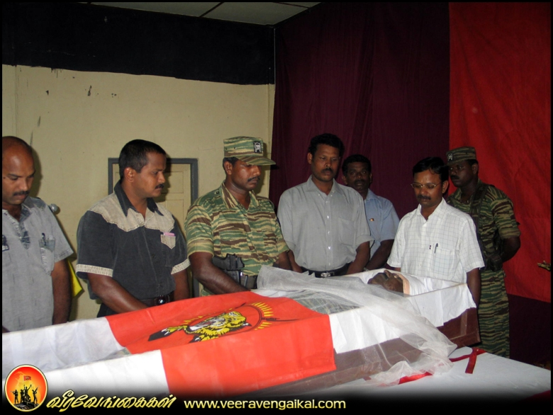 Veeravanakka events of Lt. Colonel Thavam & Major Pugazhmaran
