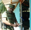Colonel Sornam opens the VTC building