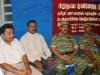 L-R) Mr.Ramesh, Fr.Satyaraj, Colonel Sornam, Mr.Elilan at the event