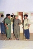 Tiger commanders Sornam, Balraj with S.P. Thamilchelvan during LTTE Counter Op. 'Tiger Leap' in Jaffna