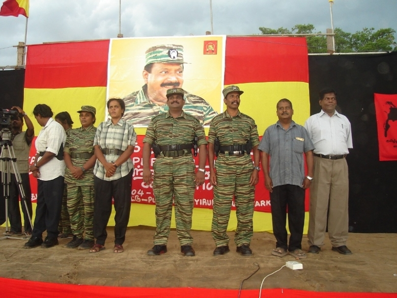 LTTE commanders Col.Ramesh and Col.Soosai
