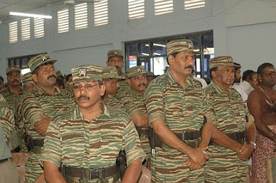 Senior LTTE members including LTTE Intelligence Wing head Pottu Amman