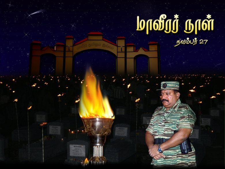 Tamil Eelam National Martyrs Day November 27